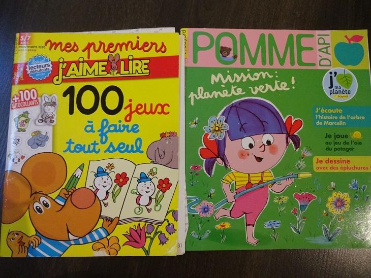 フランスのこども雑誌 定期購読_f0194446_16322144.jpg
