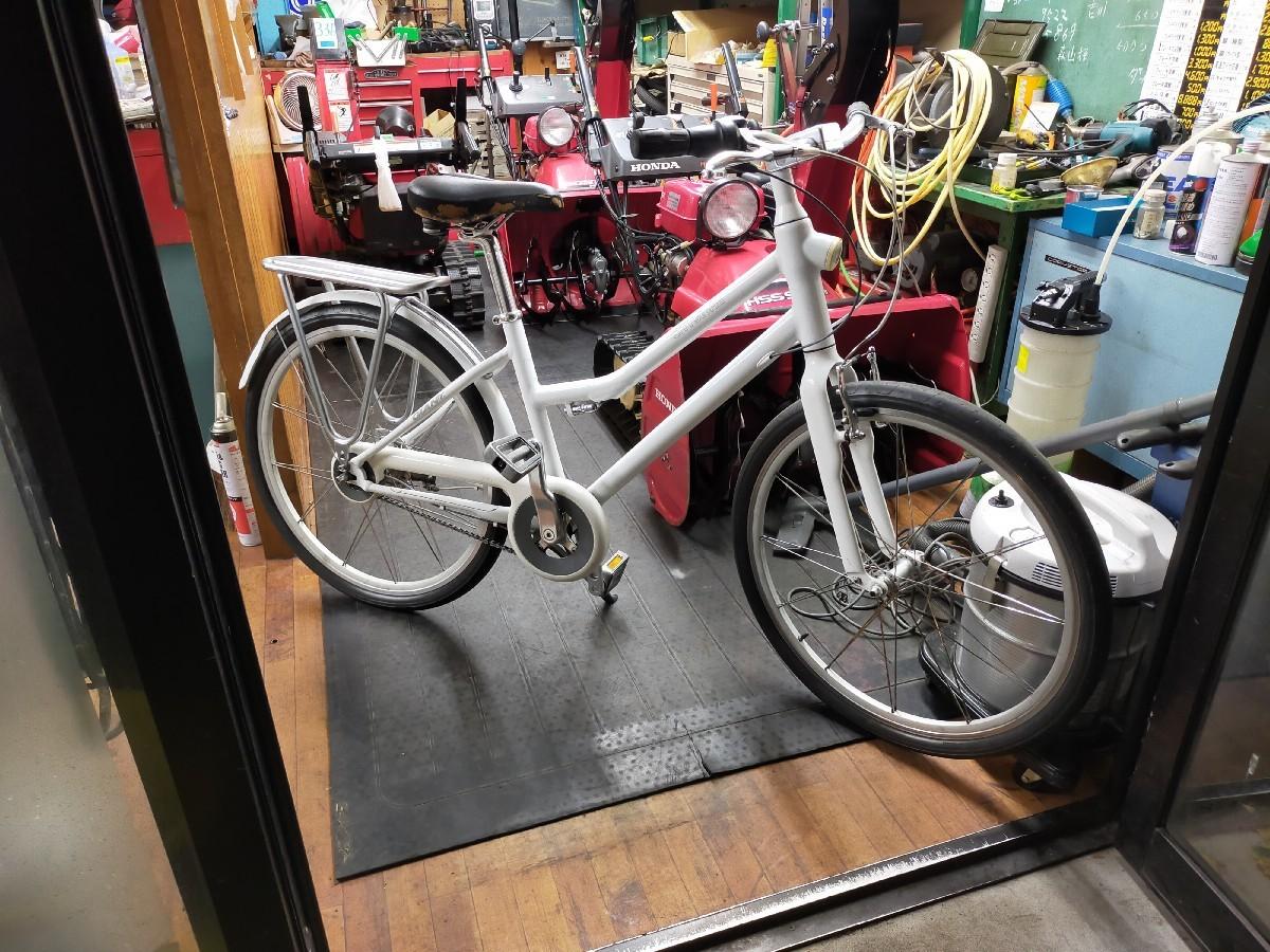札幌 清田区 自転車 車椅子 除雪機マツダ_a0216771_08124969.jpg