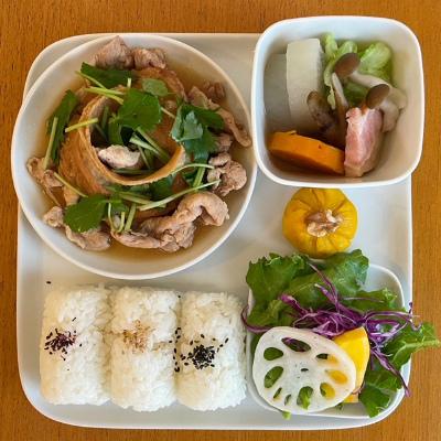 豚肉と車麩の炒め煮_b0102217_15201423.jpg