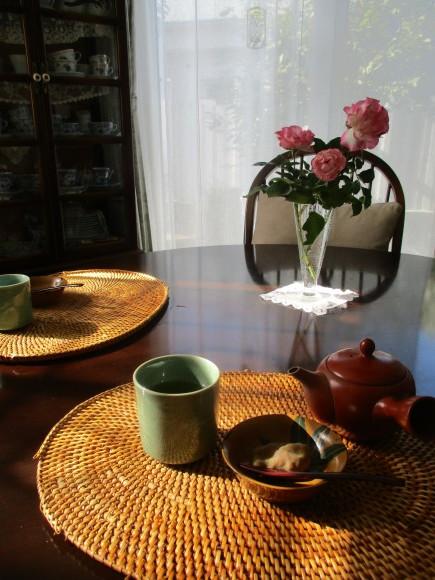 素晴らしい秋晴れ&黒い真珠の三次ピオーネ&栗きんとん作り_a0279743_21363857.jpg