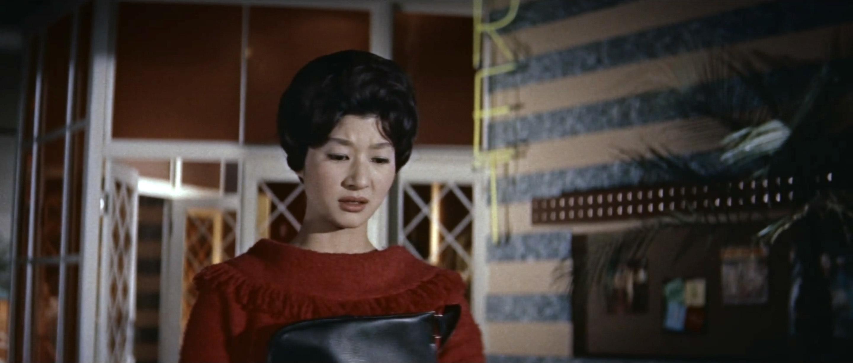 久保菜穂子(Naoko Kubo)「多羅尾伴内 七つの顔の男だぜ」(1960)其の参_e0042361_19591546.jpg