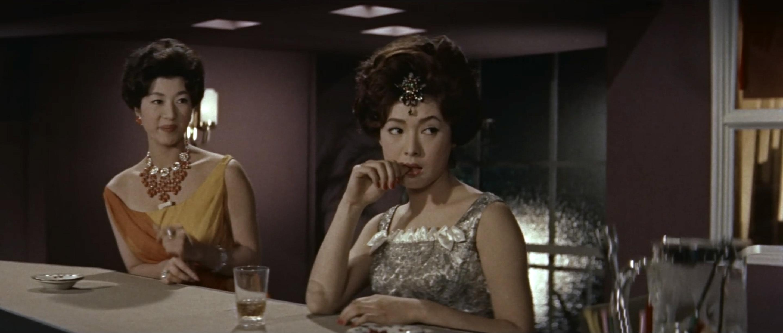 久保菜穂子(Naoko Kubo)「多羅尾伴内 七つの顔の男だぜ」(1960)其の参_e0042361_20000617.jpg
