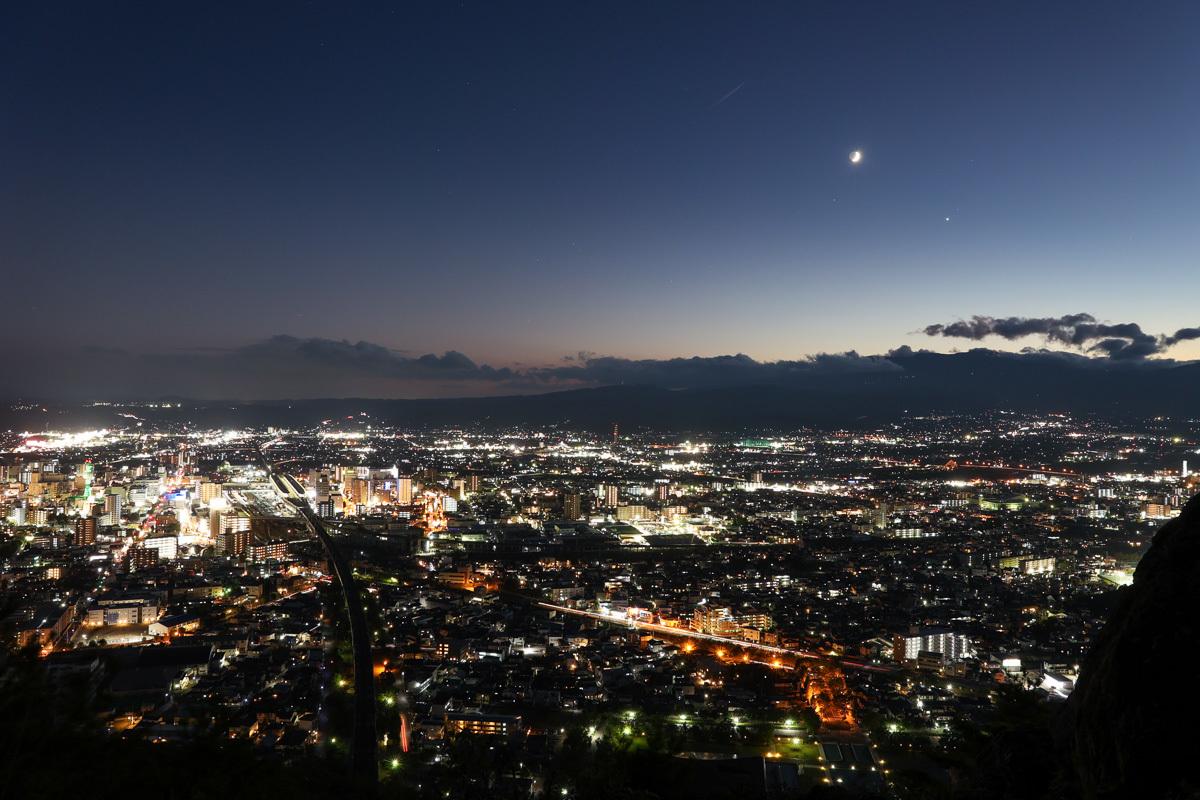 信夫山烏ケ崎からの夜景_e0088874_16134814.jpg