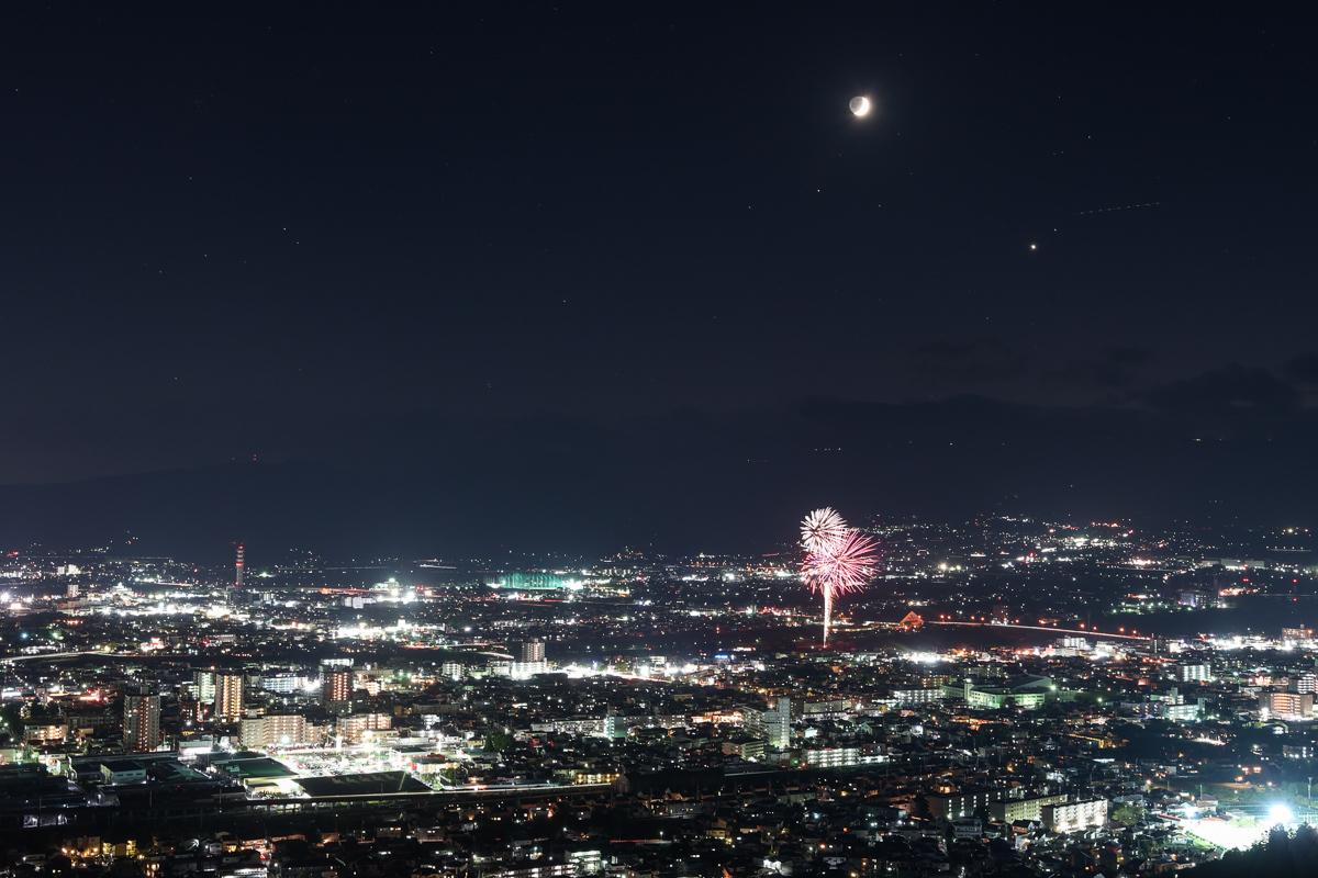 信夫山烏ケ崎からの夜景_e0088874_16144444.jpg