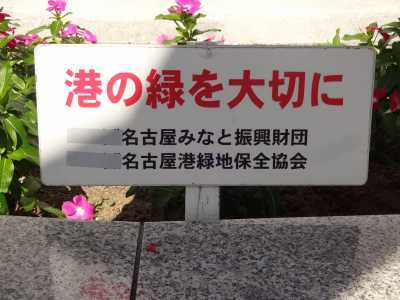 名古屋港水族館前花壇の植栽R3.10.6_d0338682_08230303.jpg