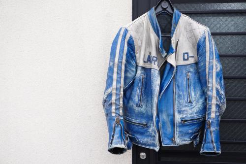死ぬジャン修理 by NEON Leather Garment_f0203027_19011730.jpg
