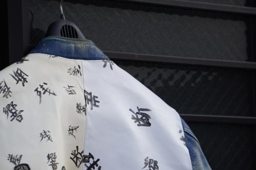 死ぬジャン修理 by NEON Leather Garment_f0203027_19021420.jpg