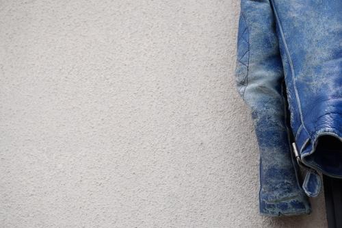 死ぬジャン修理 by NEON Leather Garment_f0203027_19021966.jpg