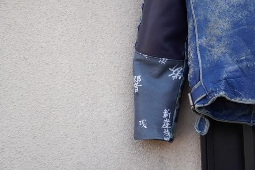 死ぬジャン修理 by NEON Leather Garment_f0203027_19022509.jpg