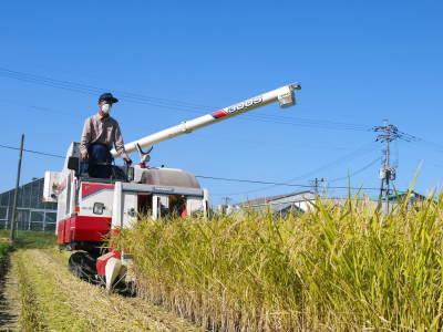 七城米 長尾農園 美しすぎる田んぼの稲刈り(2021) 新米の出荷は10月下旬からの予定です!(後編) _a0254656_18221799.jpg