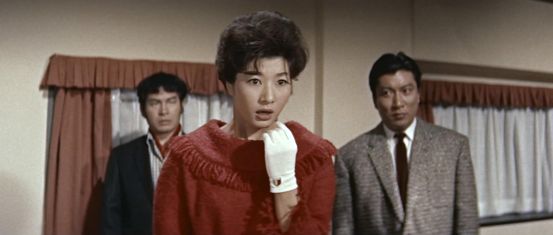 久保菜穂子(Naoko Kubo)「多羅尾伴内 七つの顔の男だぜ」(1960)其の四_e0042361_21273044.jpg