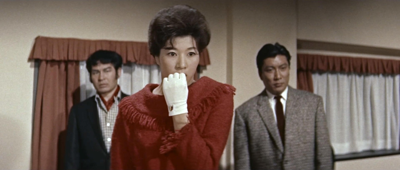 久保菜穂子(Naoko Kubo)「多羅尾伴内 七つの顔の男だぜ」(1960)其の四_e0042361_21273351.jpg