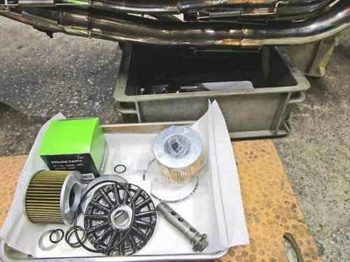 S本サン号 GPZ900Rニンジャ ターンフローラジエターに強力電動ファンを装着♪ (Part)_f0174721_23093601.jpg