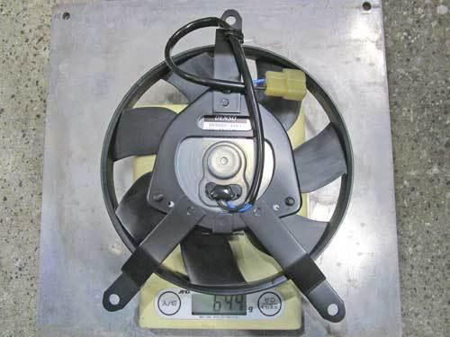 S本サン号 GPZ900Rニンジャ ターンフローラジエターに強力電動ファンを装着♪ (Part)_f0174721_23161926.jpg