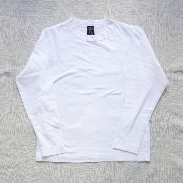 homspun : 天竺長袖Tシャツ_a0234452_13293516.jpg