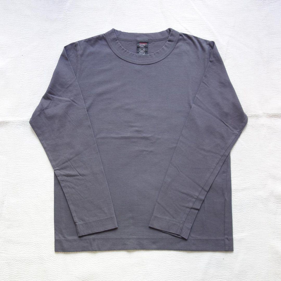 homspun : 天竺長袖Tシャツ_a0234452_13294104.jpg