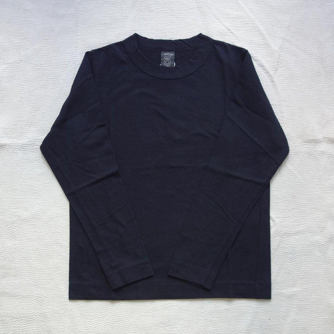 homspun : 天竺長袖Tシャツ_a0234452_13294428.jpg