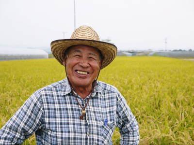 『砂田のこだわりれんげ米』の稲刈り2021 頑固おやじから引き継いだ息子さんたちが育て上げました!_a0254656_17572171.jpg