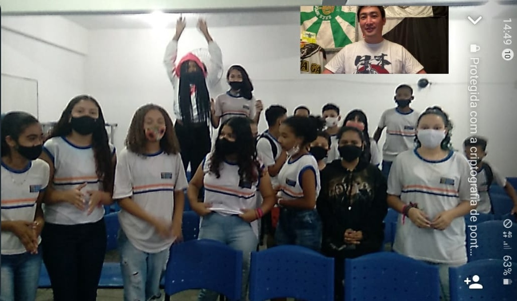 ◤レポート●ブラジル、リオデジャネイロの中学校授業で再び登壇◢ 何がリアルで普遍的なのか?・・・やり甲斐ありすぎ!感激!楽しい!_b0032617_23573679.jpg