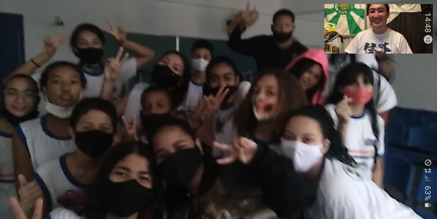 ◤レポート●ブラジル、リオデジャネイロの中学校授業で再び登壇◢ 何がリアルで普遍的なのか?・・・やり甲斐ありすぎ!感激!楽しい!_b0032617_23573680.jpg
