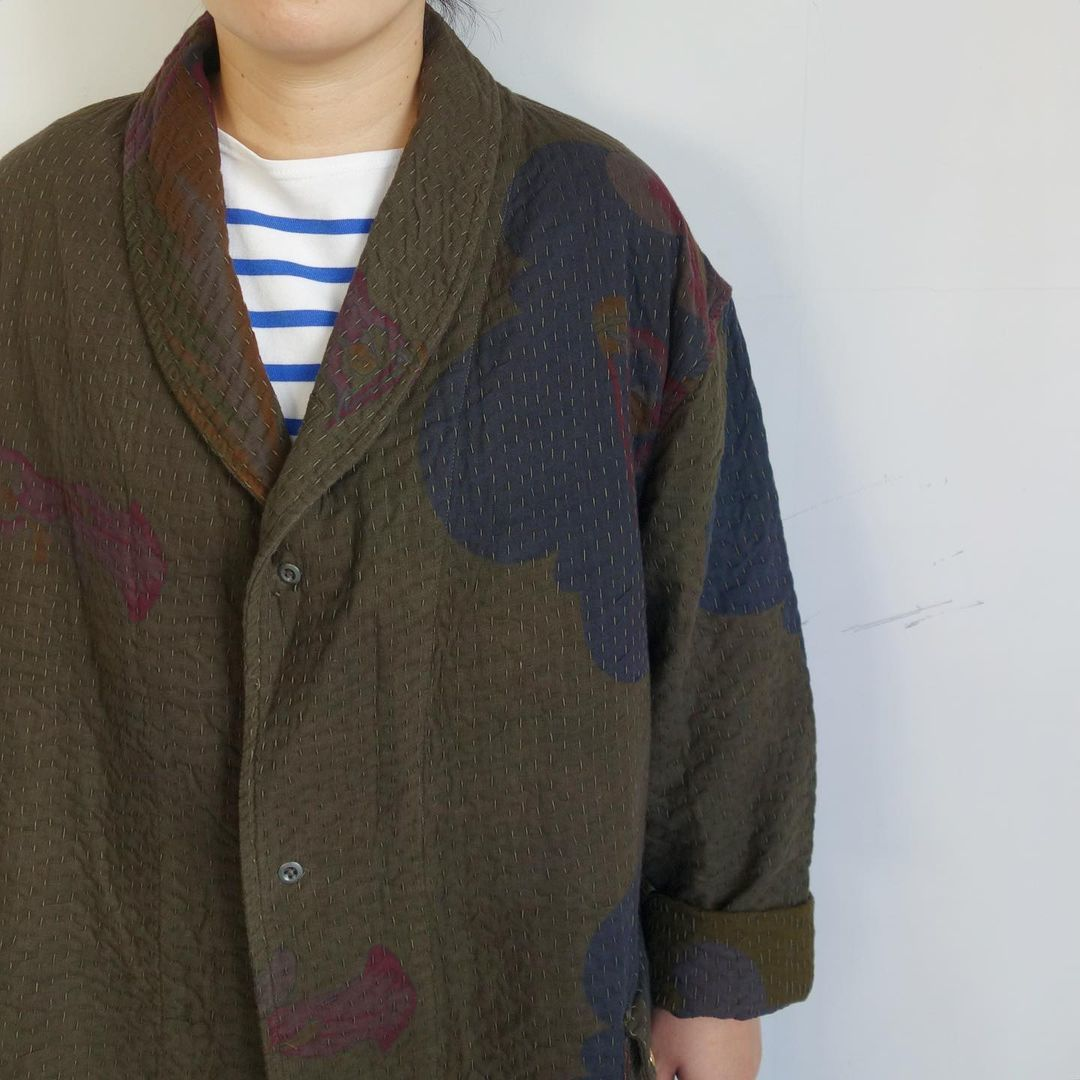 Slow Hands : old saree kantha shawl coat_a0234452_12332545.jpg