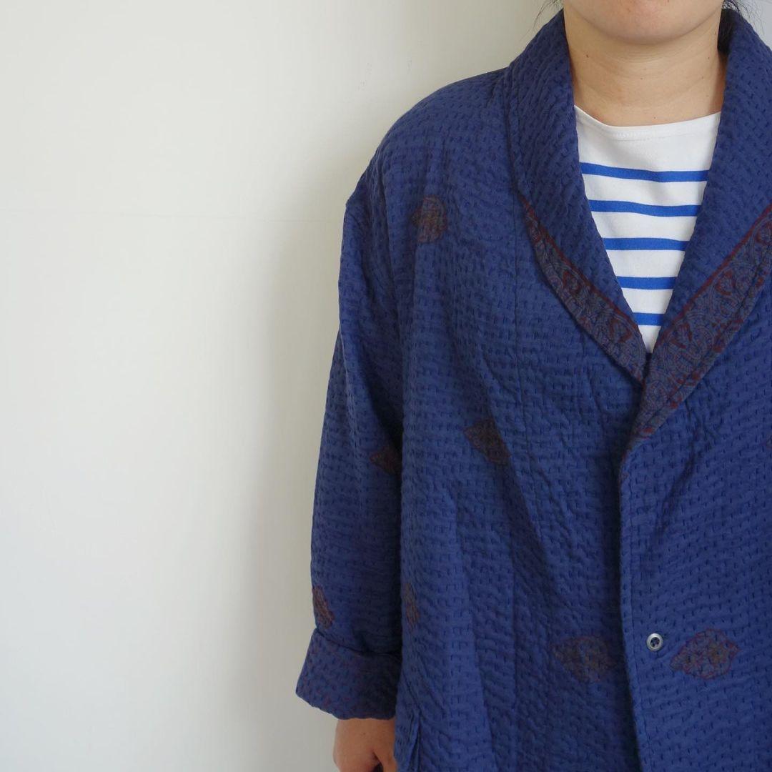 Slow Hands : old saree kantha shawl coat_a0234452_12332803.jpg
