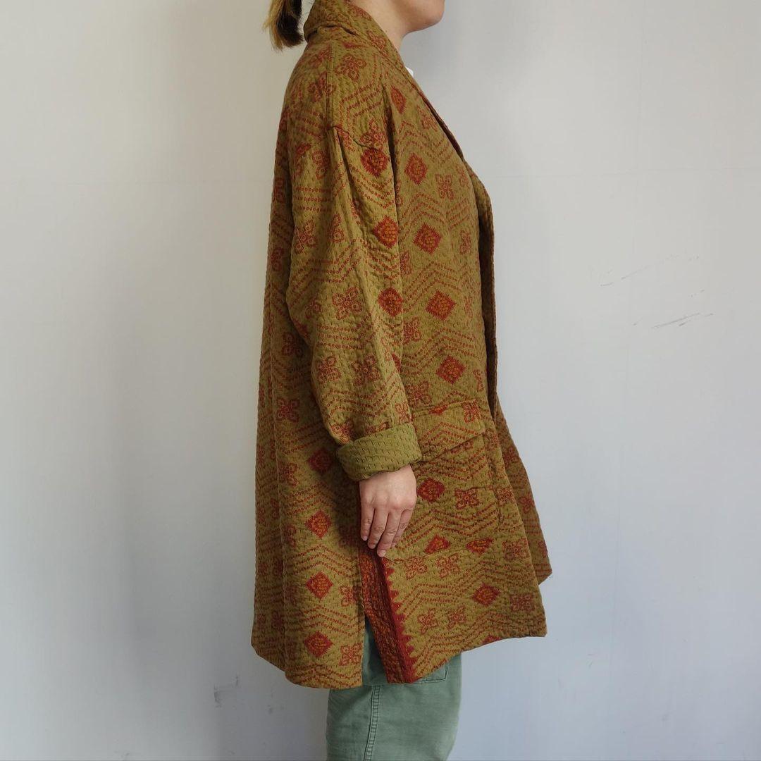 Slow Hands : old saree kantha shawl coat_a0234452_12333294.jpg