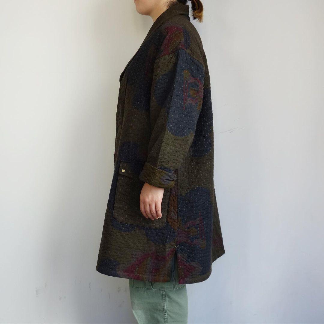 Slow Hands : old saree kantha shawl coat_a0234452_12333679.jpg