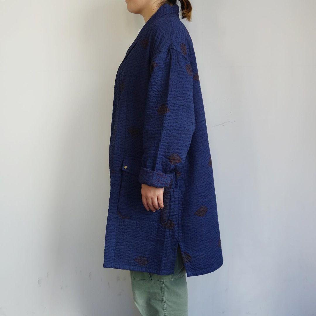 Slow Hands : old saree kantha shawl coat_a0234452_12333926.jpg