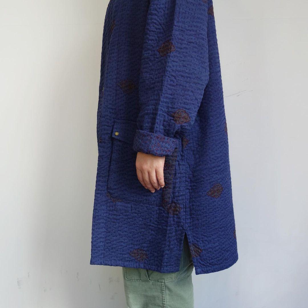 Slow Hands : old saree kantha shawl coat_a0234452_12334916.jpg