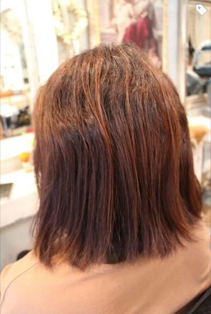 強度にムラがある毛髪に縮毛矯正。_b0210688_12174150.png