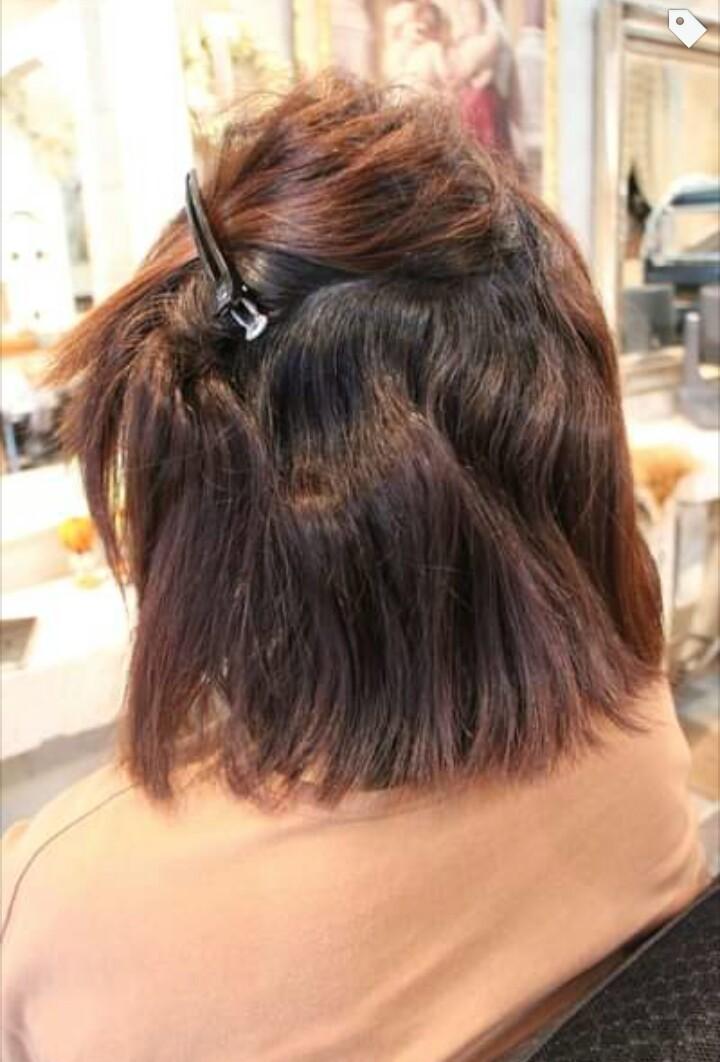 強度にムラがある毛髪に縮毛矯正。_b0210688_12180374.png