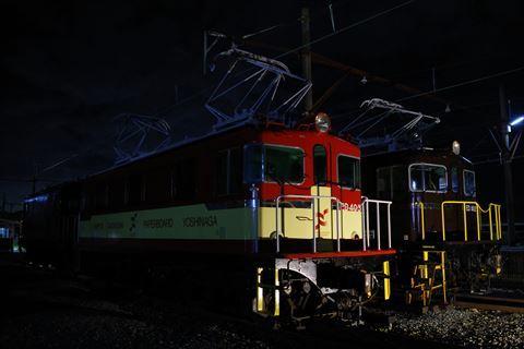 10/14 鉄道の日は夜の岳南富士岡へ。_e0094492_19505301.jpg