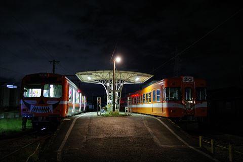 10/14 鉄道の日は夜の岳南富士岡へ。_e0094492_20185719.jpg