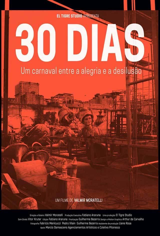 """◤ドキュメンタリー映画に出演◢ ブラジル、リオの映画祭公式作品""""30 Dias – Um carnaval entre a alegria e a desilusão""""_b0032617_00352229.jpg"""