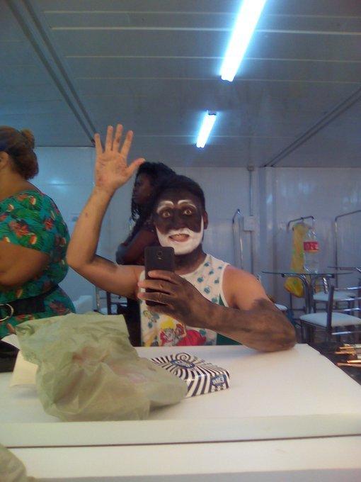 """◤ドキュメンタリー映画に出演◢ ブラジル、リオの映画祭公式作品""""30 Dias – Um carnaval entre a alegria e a desilusão""""_b0032617_01281173.jpg"""