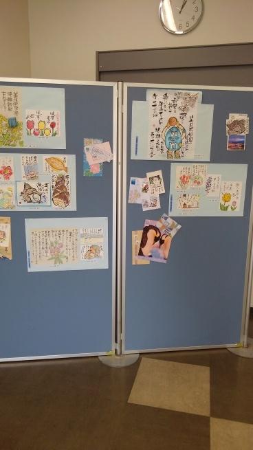 第九回 湊線応援絵手紙展_e0246154_21505239.jpg