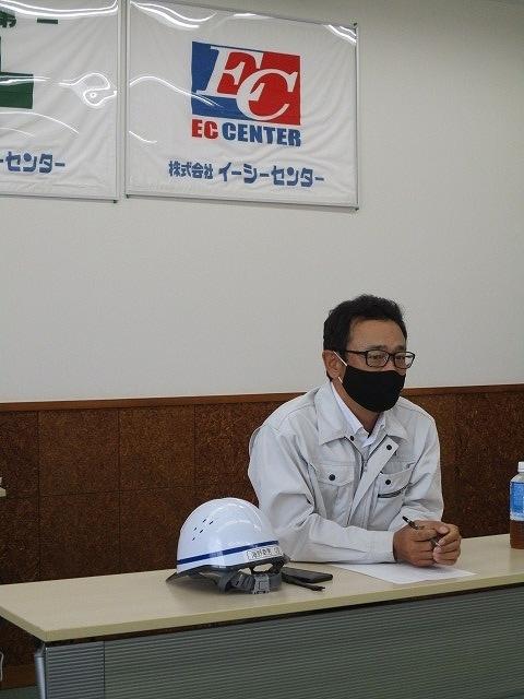富士高の1年生がキャリア教育の一環でOBが社長を務める㈱イーシーセンターさんを企業訪問_f0141310_05494291.jpg