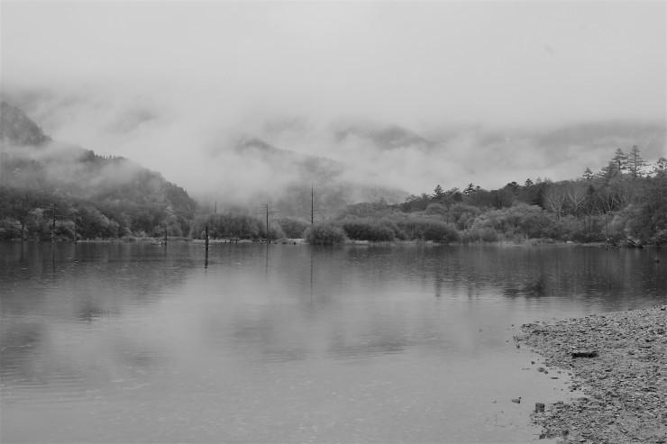 霧の上高地_f0282759_19114466.jpg