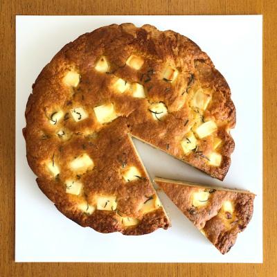 クリームチーズと桃のジャムのケーキ_b0102217_15135811.jpg
