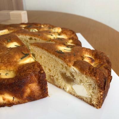 クリームチーズと桃のジャムのケーキ_b0102217_15142837.jpg
