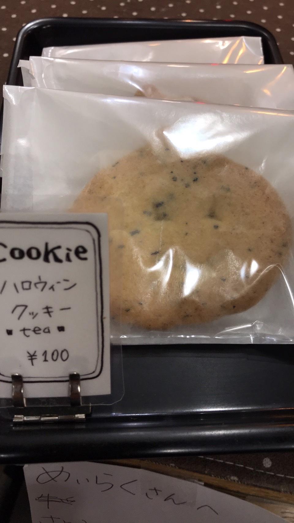 「ハロウィンクッキー発売中!」_a0075684_21200413.jpg