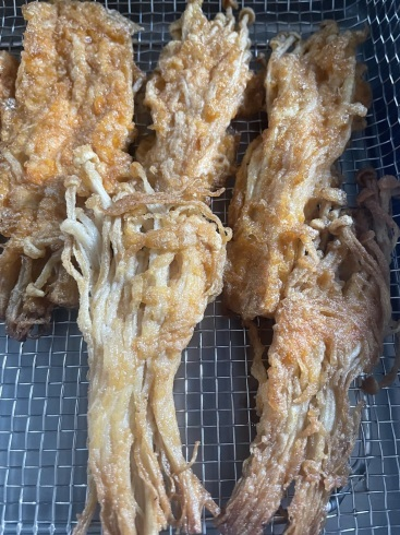 芽キャベツのDijonマスタードローストとエノキのジョン風と冷凍野菜のロースト_f0012916_19220238.jpeg