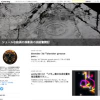 blender 3d『モーショントラッキング』 - シュールな絵画の抽象画の油絵奮闘記