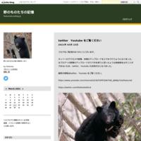 ツキノワグマの暮らし - 野のものたちの記憶