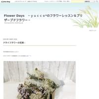 ミモザのリース☆ - Flower Days ~yucco*のフラワーレッスン&プリザーブドフラワー~