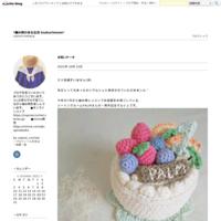 麻ひものミニトートバッグ【ブルー×ナチュラル】 - *編み物のある生活 tsukurimono*