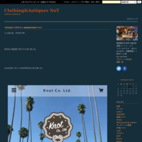 """Blog復旧できず2…""!!!! - Clothing&Antiques NoT"