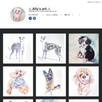 「 Flowers 」 - < Ally's art >