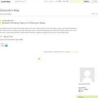 Browse Trending Topics On Ethereum News - Zackvulin's Blog